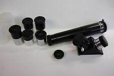".965"" 5 Piece Telescope Eyepiece Kit with Moon Filter, Diagonal, 3x Barlow Lens"