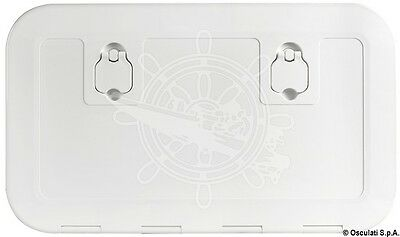 Osculati Flush Inspection Hatch Ral 7042 600 X 250 mm