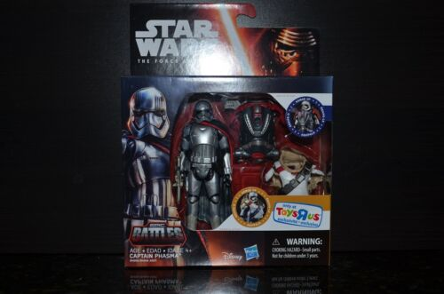 Star Wars The Force Awakens Exclusive TRU Epic Battles Captain Phasma 3.75 MIB