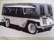 1949 Willys Overland Jeep Station Wagon 11 X 17 Photo Picture