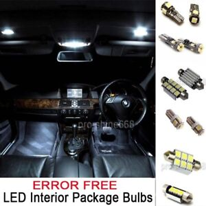Details About Interior Led Bulbs Package Roof Kit White 12v Fit Bmw 3 Series E91 Touring