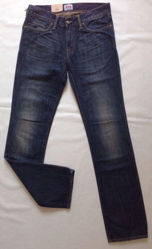 Edwin Jeans Ed 77 Slim, Dark bluee, Duster Gebraucht W31 L34