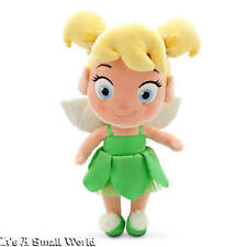 """Disney Store Toddler Tinker Bell Plush Doll Peter Pan Small 13"""" NWT"""