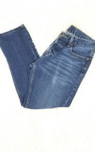 5a895cfe48 Hollister Men s Skinny Jean Blue Denim Button Fly Size 30 x 30 ...