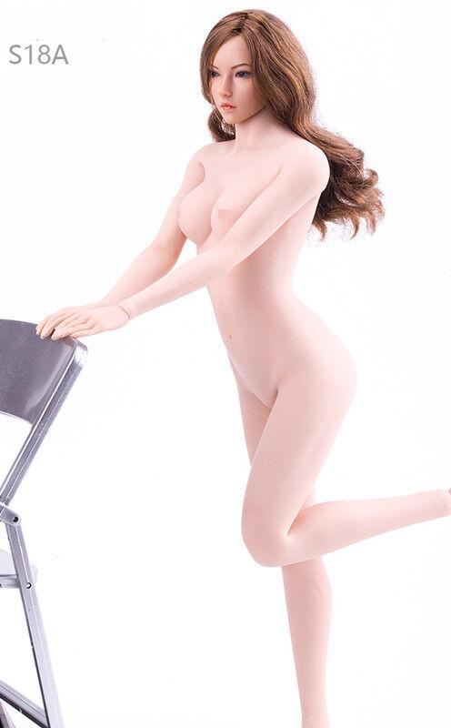 Tbleague 1   6 der weiblichen figur blass mitte nahtlose körper modell plmb2017-s18a