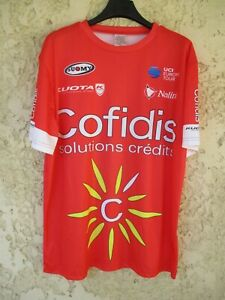 Maillot cycliste COFIDIS Tour de France rouge shirt camiseta trikot maglia XL