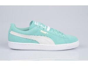 PUMA SUEDE CLASSIC WN S PASTEL 355462 32 HOLIDAY TURQUOISE MINT ... 75c69a720