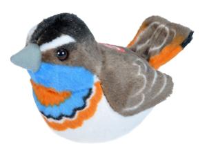 Wild Republic Bb Bird Euro Bluethroat Bird With Real Bird Calls Birds 19502