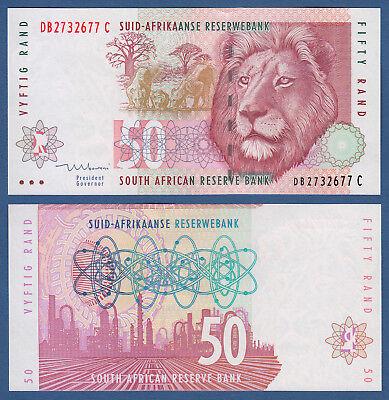 Honey SÜdafrika 1999 Unc P.125 C South Africa 50 Rand