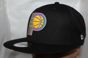 cheap for discount d8212 4d3d3 Image is loading Indiana-Pacers-New-Era-NBA-Dual-Flect-9Fifty-