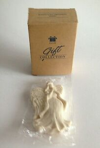 VTG-Season-039-s-Joy-034-Angel-034-Ornament-4-5-034-Resin-1997-AVON-GIFT-COLLECTION-w-box