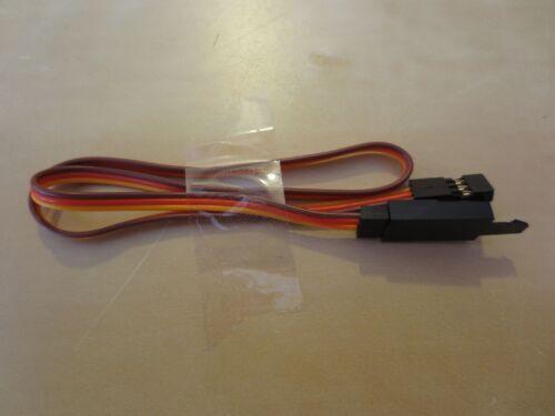 Servoverlängerung JR Graupner backup clip 15//30//60//90cm 3x0,25mm² Cavo Servo