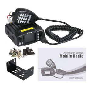 QYT-KT-7900D-Quad-Band-Quad-Standby-5Tone-VHF-25W-Car-Truck-Ham-Mobile-Radio-AT