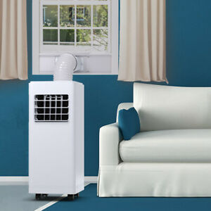Costway 12000 BTU Air Conditioner Dehumidifier Function Portable w/Remote White