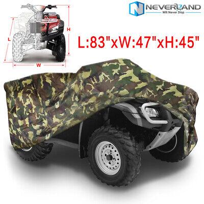330 500 XL Large Black ATV Storage Cover All Weather For Polaris Magnum 325