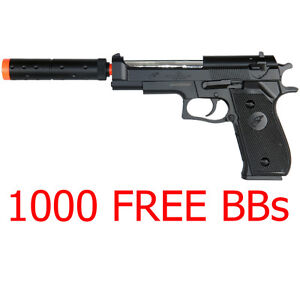 Toy Gun Airsoft Mauser C96 Pistol 280 FPS Metal Broomhandle Spring WWII G12 NEW