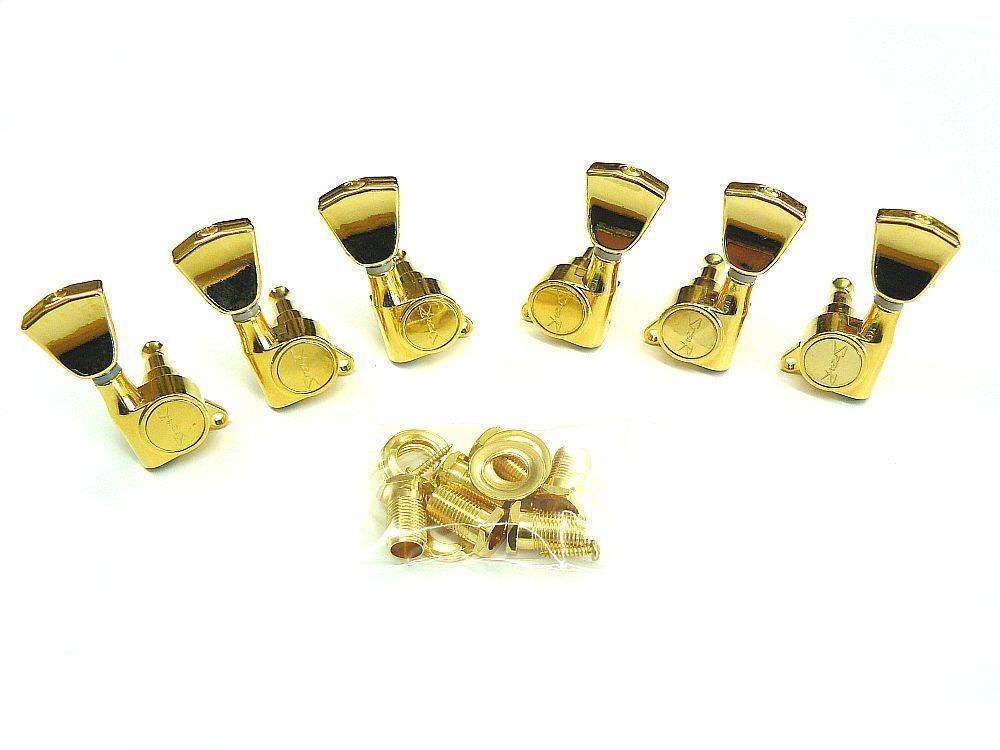 Gitarren-Mechaniken Spear 3li 3re Tulip in Gold