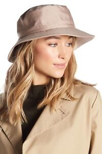 36ee48bb5cc Luxury Eric Javits Taupe Kaya Nylon Packable Water Repellant Hat NWT ...
