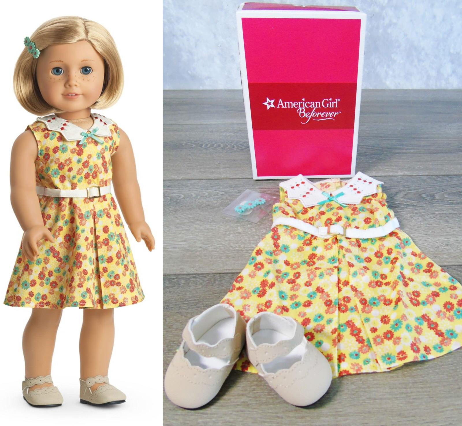 Nuovo American Girl Bambola Abgreeliamento  Kit Floreale da Completo Sautope Belt  costo effettivo