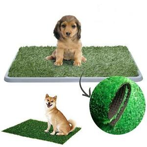 Indoor Pet Toilet Dog Cat Artificial Grass Potty Training Litter ...