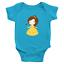 Infant-Baby-Rib-Bodysuit-Jumpsuit-Romper-Clothes-Beauty-amp-Beast-Princess-Belle thumbnail 18