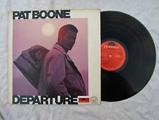 PAT BOONE LP DEPARTURE polydor 5836 747 EX+ ..33rpm / 60's