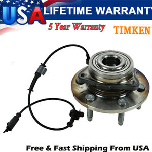 Note: 8 Stud Hub; 4WD Bearings & Seals 2005 For Chevrolet Silverado 1500 Base Front Wheel Bearing and Hub Assembly x 1