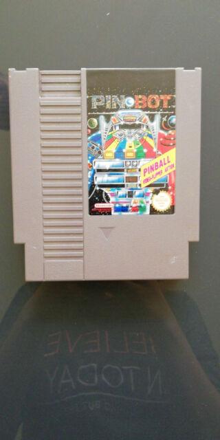 Pin Bot PinBall(Nintendo NES) - Voll Funktionsfähig - Raritäten
