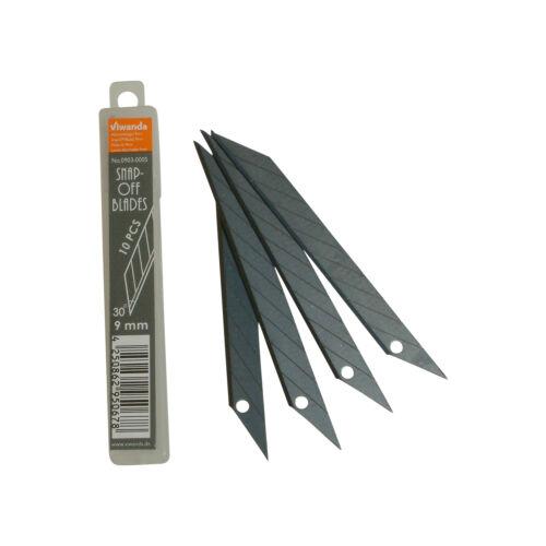 Viwanda Snap-Off Klingen 9mm SK2-Cr Stahl für Motion Präzisions Cutter