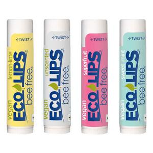 ECO-LIPS-Organic-Lip-Balm-Bee-Free-Vegan-Lip-Balm-4-Flavor-Selections