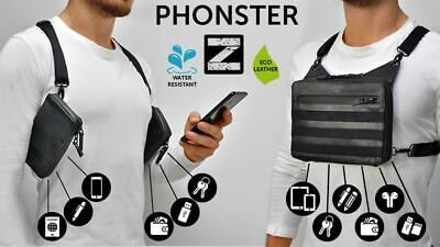 Anti-theft Men/'s Sling Bag Camping Travel Crossbody Shoulder Chest Pack