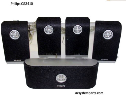 PHILIPS CS3410 , set of 5 CS3400 any Model 1000W surround sound Speakers