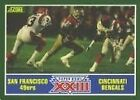 1989 Score Super Bowl Xxiii #275 Football Card
