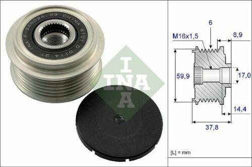INA Generatorfreilauf 535 0135 10 für HYUNDAI KIA