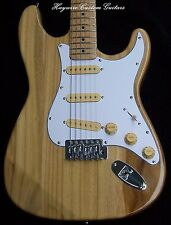 Fender Strat -X-Light!+Warmoth Option+Relic SRV Pickups+Ash w/Custom Maple Neck