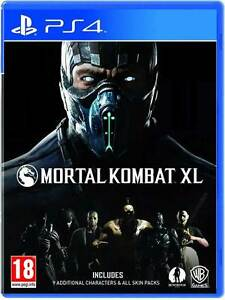 Mortal Kombat XL PS4 Game Brand New Sealed Region Free