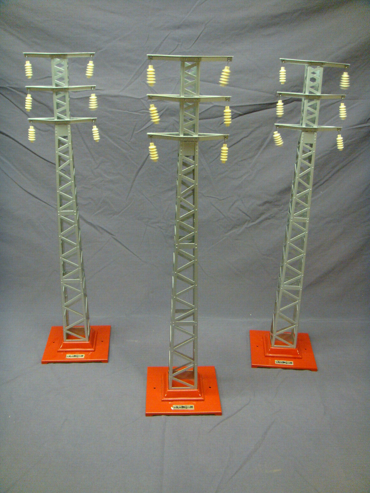MTH Tinplate Traditions nr 94 High Tension Tower Set 1043 Ny