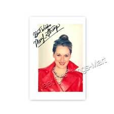 Meryl Streep - Actress | Producer -  Autogrammfotokarte laminiert [A6] 