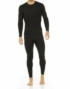 Thermajohn-Men-039-s-Ultra-Soft-Thermal-Underwear-Long-Johns-Set-with-Fleece-Lined
