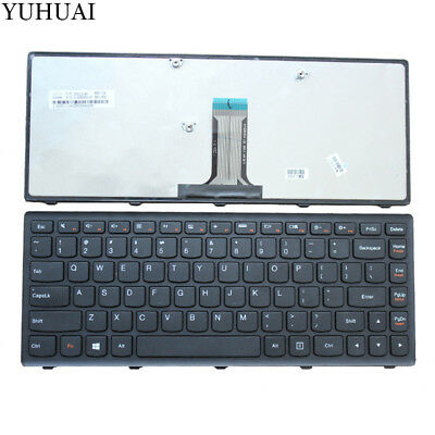 Fit English For Lenovo 25206659 MP-10A33US-686CW T4G8-US keyboard with frame US