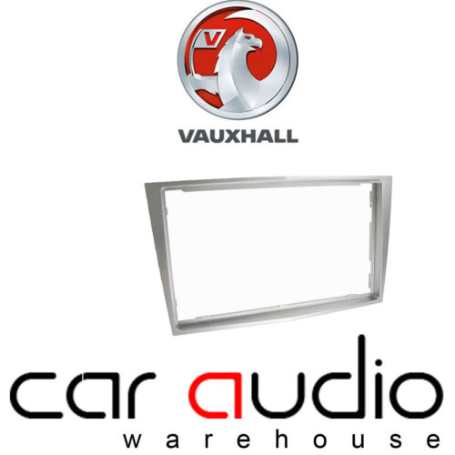 CT24VX23 Vauxhall Corsa D 2006 On Car Stereo Radio Double Din Fascia Facia Panel