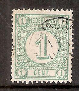 Nederland-Kleinrondstempel-op-NVPH-nr-31