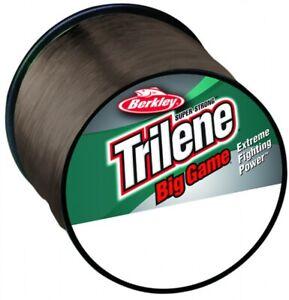 Berkley-Trilene-Big-Game-Monofilament-Fishing-Line-BROWN-All-Breaking-Strains