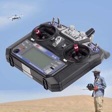 FS FlySky FS-i6 2.4GHz RC Helicopter Transmitter Receiver 6ch 6 Channel Radio AD