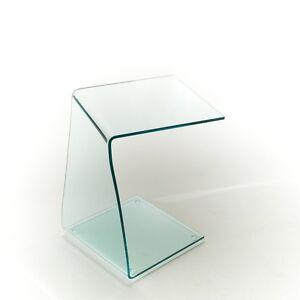 GROUP DESIGN tavolino per salotto Miami vetro trasparente piante ...
