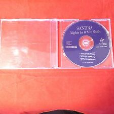 Sandra - Nights In White Satin Rare CD Single Made in Holland LC3098