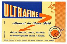 Buvard publicitaire Aliment du beau bébé Ultrafine
