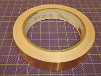 1 Roll: 3m Emi Copper Foil Shielding Tape 1181, 3/4 X 54', 80011181049 90b