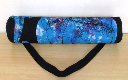 Yoga Mat Carrier Bag Indian Beach Exercise Gym Bags With Shoulder Strap Throw