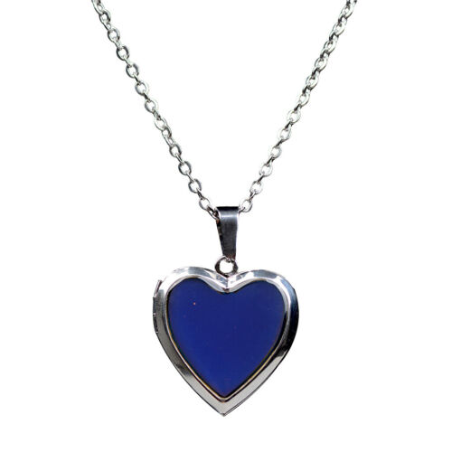 1 Stück Vintage Edelstahl Halskette mit Herz Stil Anhänger Halskette Schmuck